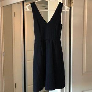 Maeve Navy Blue Cutout Dress